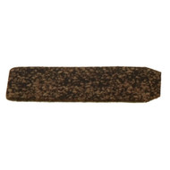 """Preferred by many leading PBA Tour Professionals like Amleto Monacelli, Shur Hook Cork Tape has been used for decades by bowlers of all skill levels. Used in place of traditional finger inserts, Cork Tape has a subtle surface texture allowing for perfect grip control and release. Cork Tape is installed on the front edge of finger hole and can be cut to fit any size finger hole. Each piece approx. 1 7/8"""" L x 7/8"""" W. *Shur Hooks are sold individually. You will receive one Shur Hook per order."""
