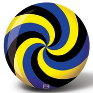 Viz-A-Ball Spiral Yellow/Black/Blue