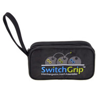"""Prevent breakage Store up to 5 additional Switch GripTM Inner Sleeves in this convenient storage case Approx. size: 8"""" L x 4.5"""" H x 2"""" D"""