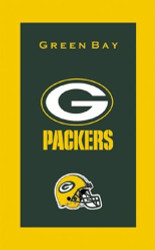 "NFL Green Bay Packers Towel  Colorful designs16"" x 26"" velour towelIndividually packaged"