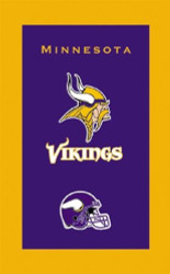 "NFL Minnesota Vikings towel.  Colorful designs16"" x 26"" velour towelIndividually packaged"