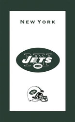 "NFL New York Jets towel.  Colorful designs16"" x 26"" velour towelIndividually packaged"