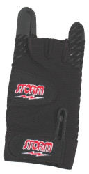 Storm Xtra Grip Glove Right Hand Black  With a unique gripping compound that increases feel for added control, spandex fabric finger gussets and glove back molds to your hand, a supreme ventilation system that helps keep hands sweat-free and dry, and an elastic wrist wrap for increased support of tendons, this glove could be exactly what you need to help keep your hand secure while bowling.  Right Hand  Color: BlackSKU: 110BKRProduct ID: 2346