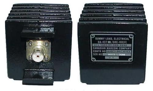 Canadian Marconi DA-437/GRC-103 | 50-Watt Military Radio Dummy Load