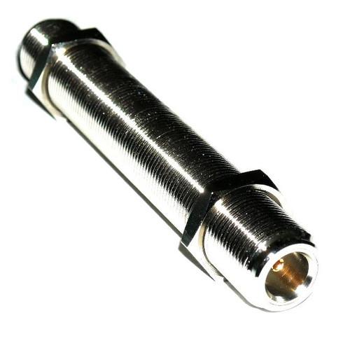 1-Inch - Type N Double Female Bulkhead Connector