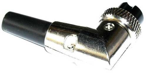 8-Pin - Microphone & Electrical Cable Connector - Right Angle Elbow
