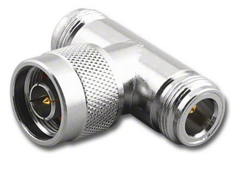 Type N Male Female Tee Coaxial Adapter Connector