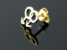 9ct Gold Male Male Gender Single Stud