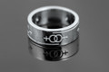 Silver Female 7mm wide Commitment/Friendship Ring S-74-1048