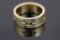 9ct Gold Female Gender Commitment & Friendship Ring 7mm Wide