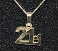 9ct Gold Half Marathon Necklat (approx 16mm)