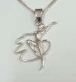 Silver Ribbon Gymnast S-2363