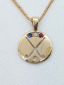 FRANCE REP Pendant, stone set - Silver or Gold