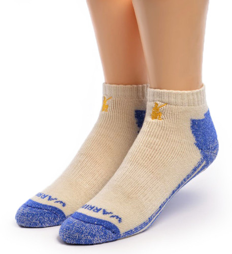 High Performance Shorty Athletic Alpaca Socks Front