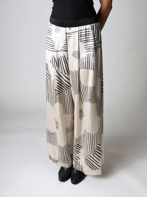 JOHNNY WAS ANDY WARHOL PLEATED PANTS