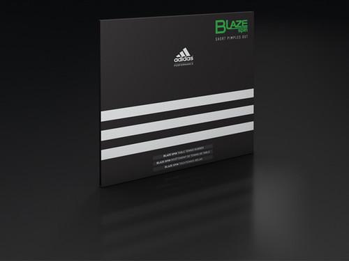 adidas BlazeSpin Rubber (Short Pips)