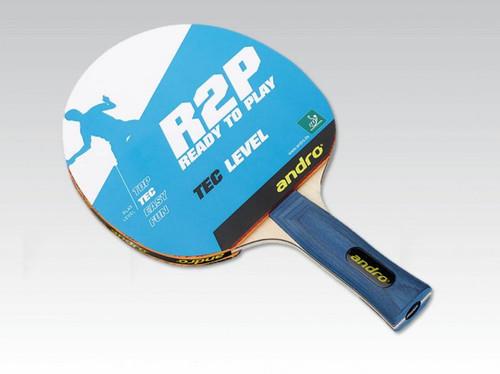 Andro Ready 2 Play Tec FL Racket