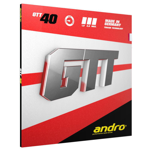 Rubber Sheet for Combo Blade - Andro GTT 40 Rubber (Only with 1 Combo Blade)