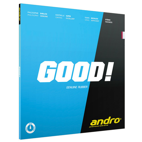 Rubber Sheet for Combo Blade - Andro Good! Rubber (Only with 1 Combo Blade)