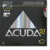 Rubber Sheet for Combo Blade - DONIC Acuda S1 Turbo Rubber (Only with 1 Combo Blade)