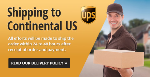 Shipping to Continental US