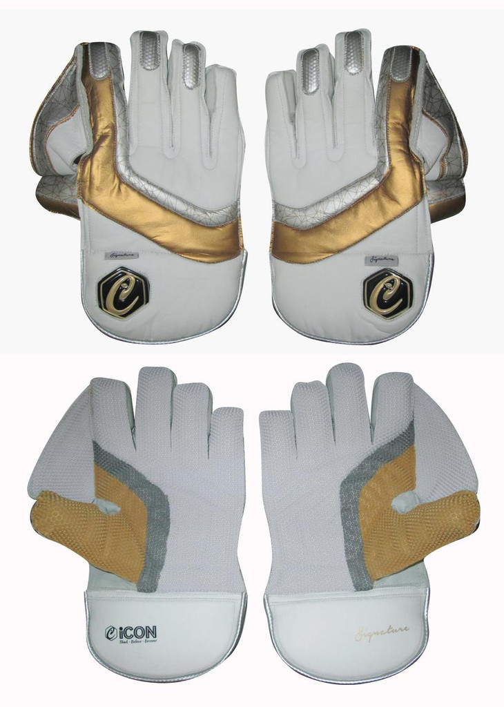 SIGNATURE CRICKET WICKET KEEPING GLOVES