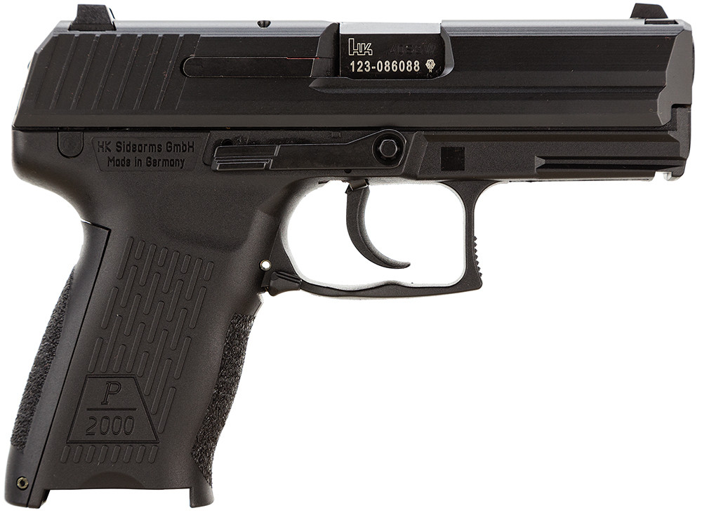Hk P2000 Lem Dao 40s&w 12+1 3.85[dquote] Syn Grip Blued 2 Mags