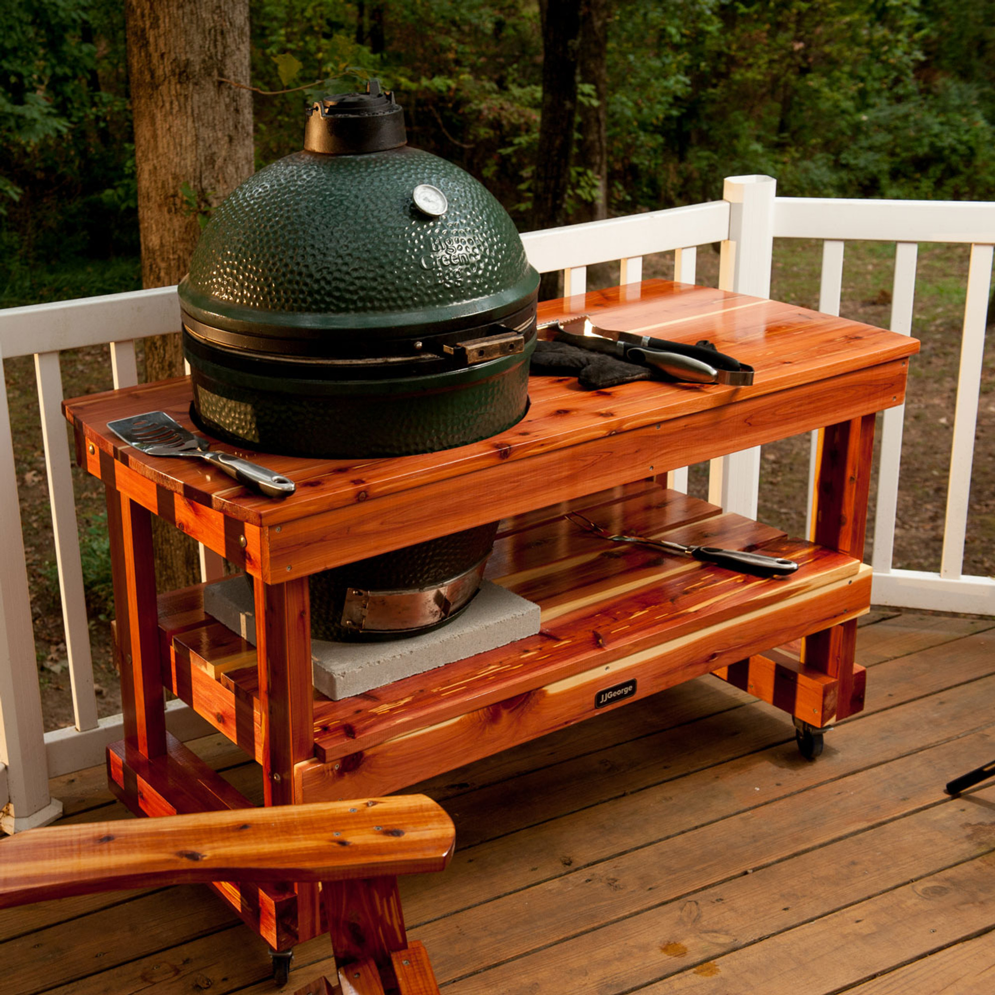 Long Table For Large Big Green Egg ...