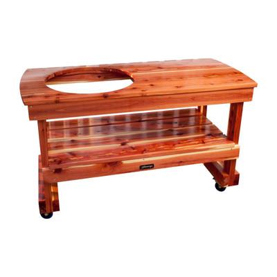 """Long Table for """"Classic Joe"""" Kamado Joe  (Pre 2017 -  Old style hinge)"""