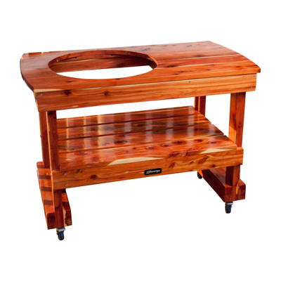 Compact Table For Medium Big Green Egg