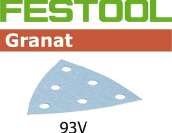 Festool Granat | 93mm Delta | 100 Grit | Pack of 100 (497393)