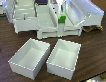 Festool Large Container Boxes for SYS-SB (2pc)