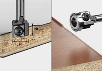 Festool Turning Plate Edge Trimming Cutter HW, (499806)