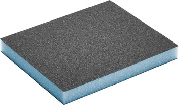 "Festool Granat   Double Sided Sponge 3-13/16"" x 4-23/32"" x 1/2""   120 Grit   6 pcs (201113)"