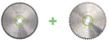 Festool Kapex Blade Set 2PK - Fine Tooth + Universal (203150) (REPLACES 57000012)