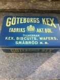 Vintage -  Göteborgskex, Metal Box