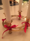 Vintage - Advent Candelabra in Brass