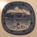 Vintage - Ceramic Plate Kungliga Slottet, Rörstrand