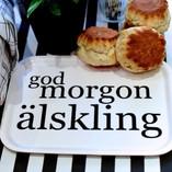 Love Design - God Morgon Älskling Tray