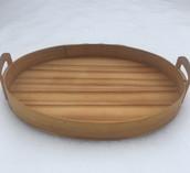 Vintage - Handmade Birch Tray