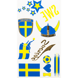 Swedish Supporter - Tattoo