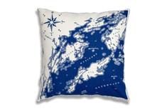 Anna CC - Sandhamn Cushion Blue
