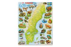 Fjällprodukter - Sweden Puzzle