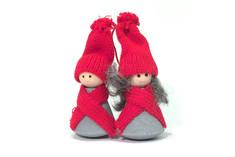 Larssons Trä - Christmas Couple Decoration