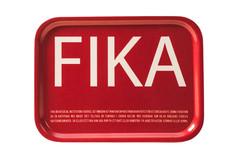 I Love Design- FIKA Tray Red