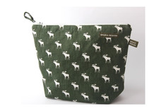 Bruka Design - Toiletry Bag Elk Green