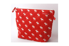 Bruka Design - Toiletry Bag Elk Red