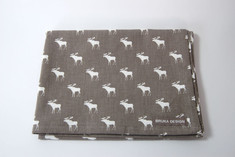 Bruka - Kitchen Towel Moose Grey