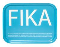 I Love Design - FIKA Tray Turquoise