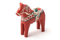 Nils Olsson Hemslöjd - Mini Dala Horse Red 5cm